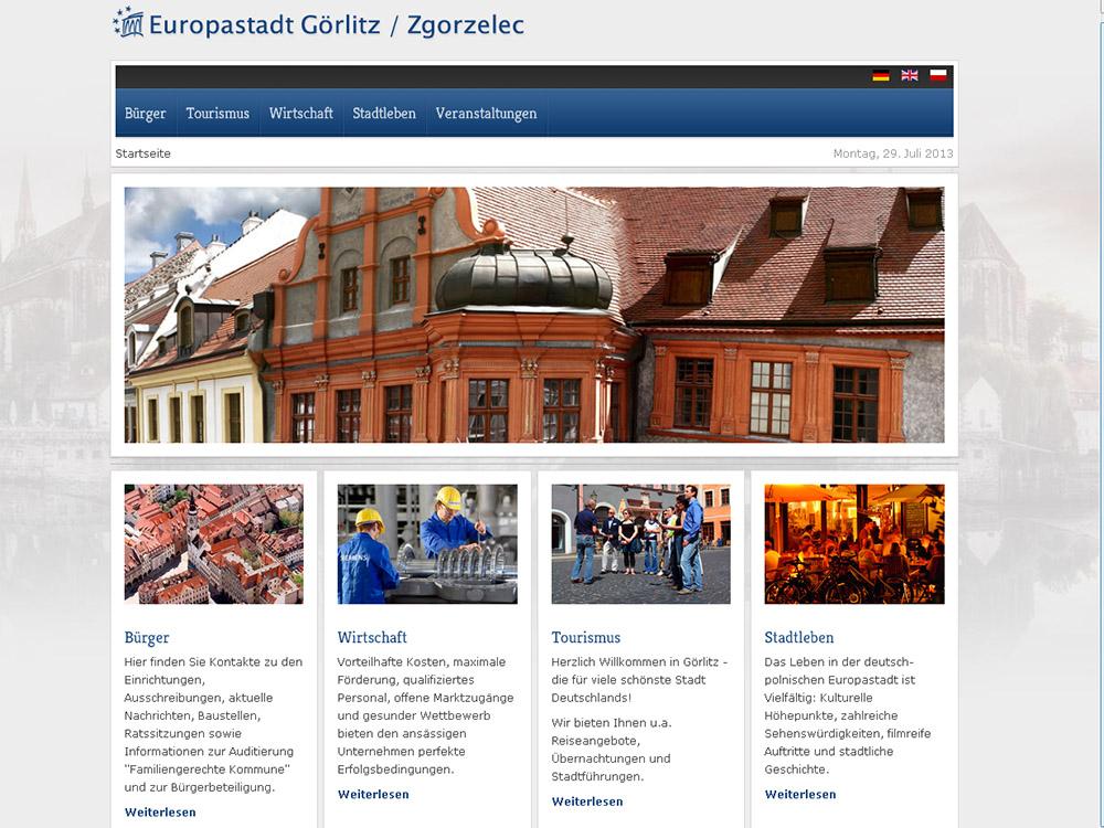 Görlitz Portal Relaunch