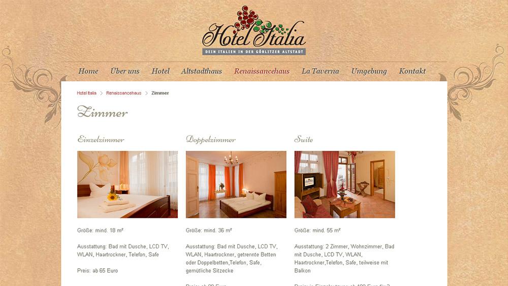 Relaunch Hotel Italia