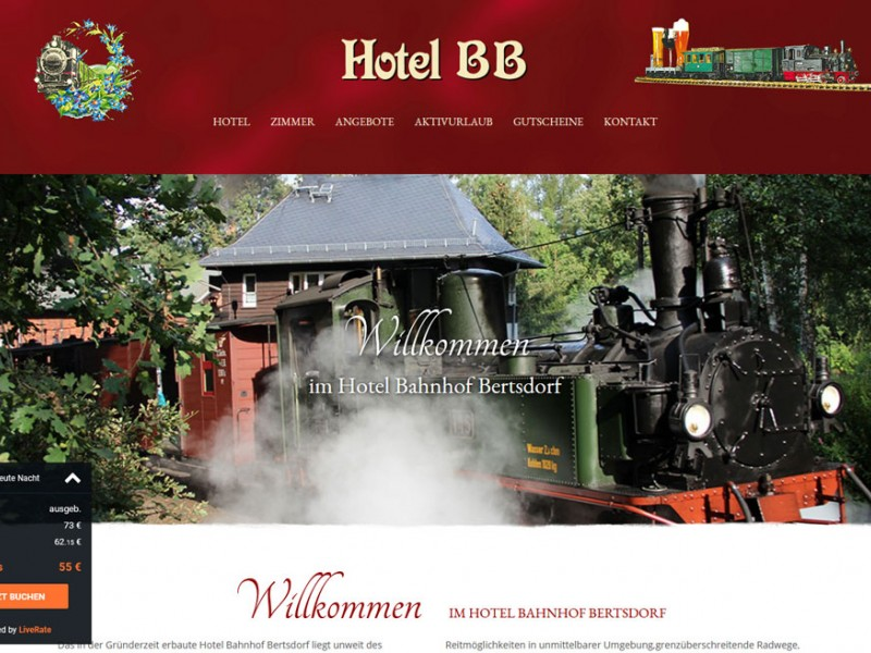 Hotel Bahnhof Bertsdorf